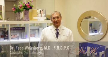 Welcome to the Weksberg Centre for Cosmetic Dermatology